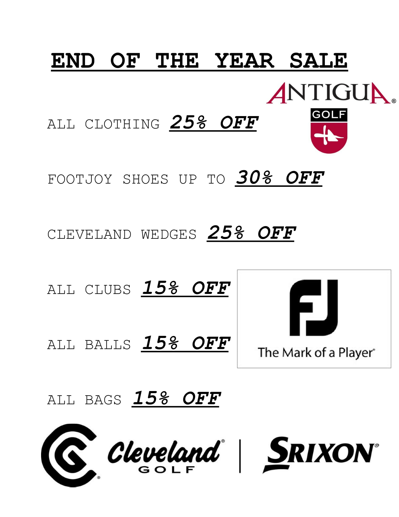 END OF THE YEAR SALE-1